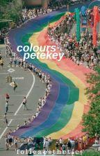 colours · petekey by folieaesthetic-