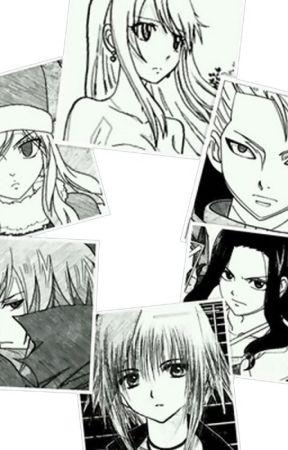 Fairy Tail y los seis guardianes by Kaede1yoshida