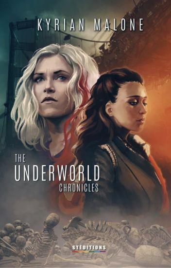 Underworld Chronicles - Science fiction - Livre lesbien - Kyrian Malone