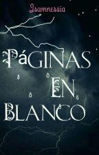 Páginas En Blanco by Isamnessia