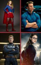 Super America (Supergirl x Captain America - soul mate) by insaneredhead