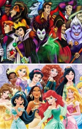 The children of Disney Villains and Disney heroes by Descender13