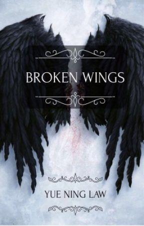 Broken Wings  by phantomchan