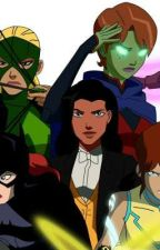 Young Justice girls x Male Amazo teen Reader by saxman87