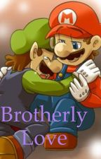 Brotherly love (Mario x Luigi) by Cachyguy