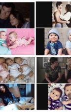 Pretty little liars: spoby,haleb,ezria y emison  babies by alexapll27