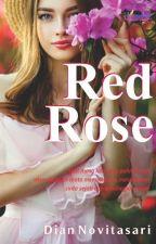 RED ROSE  by adhwaaeesha