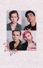 (Request open)5sos visuals 🖤 by lelecliff0rd