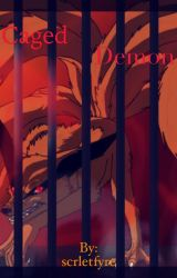 Caged Demon by scrletfyre