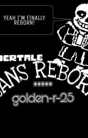 Sans REBORN  by golden-r-25