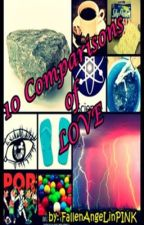 10 Comparisons of LOVE (Completed) by FallenAngeLinPINK