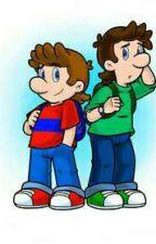 Mario Bros: La Secundaria (Pausada) by MirandaIA2004