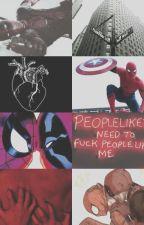 Inocencia「Marvel」「Spideypool」 by jjk_9597