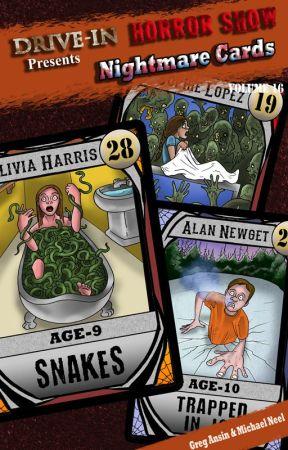 Nightmare Cards by DriveInHorrorshow