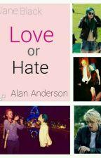 Love or hate || ~ oczami Jane by _Bluee_ee_