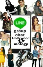 group chat Hollywood and motogp by NazmaNurulAlyaAfk