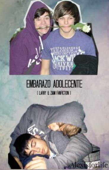 Embarazo Adolescente / Blue (Larry/Ziam/Niam) ·M-PREG·