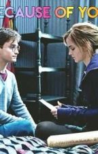 Because of you - Harry • Hermione | Fanfic by lipsies-