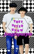 They Never Know (CHANBAEK) by jonginpurple