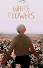 WHITE FLOWERS by vergawake