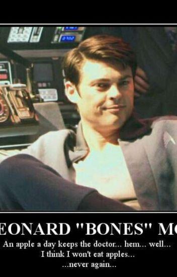 Dr Leonard 'Bones' McCoy - Tia-rex !!! - Wattpad