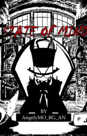 State of Mind //P a p e r h a t// Villainous Asylum AU by AngelyMO_RG_AN