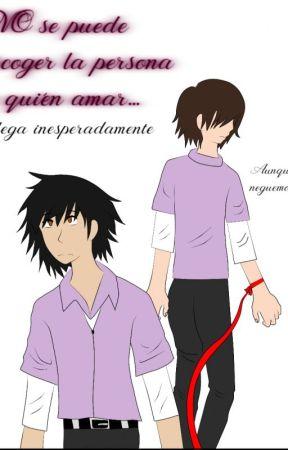 NO se puede escoger la persona a quién amar... llega inesperadamente by Haydee-kun