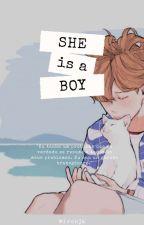 She is a boy;; jikook by whoisjeongguk