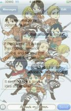 •AoT Text Messages• by chlnrinq