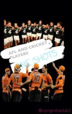 afl and cricket players one shots by cryingintheclub3