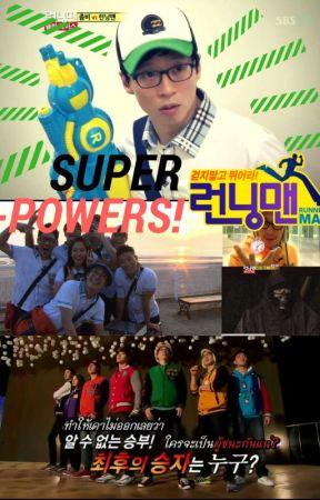 SUPERPOWERS! Running Man by TOPgiraffe