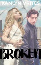 Broken /|\ Peter Parker by kamlynwrites