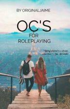 My OC's for Roleplays by Originaljaime