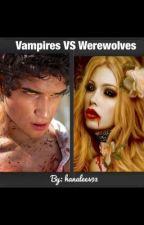 Vampires VS Werewolves by hanalee493