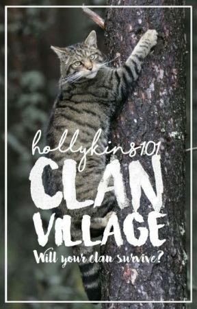 Warrior cat village by hollykins101