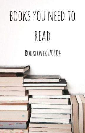 Books you need to read | Random by Booklover170104