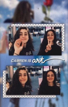 Camren is art by thelittlewolfdiaries