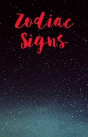 Zodiac Signs by IBeSoRandomz124