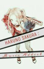 Haruno Sakura: Musik Addict by ochhii
