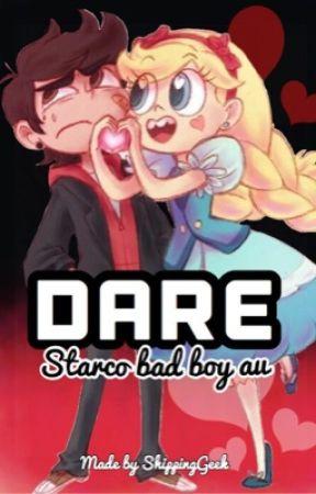 DARE starco  bad boy au  by ShippingGeek
