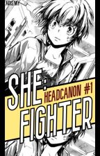 She, Fighter (KHR Headcanon) by -idxris