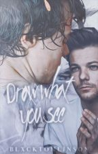 draw what you see. larry stylinson au by blxcktomlinson