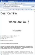 Dear Camilla, Where Are You? -on hold- by DoubleBelle