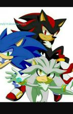 (The Game Of Love) Sonic X Shadow X Silver X Reader  by Sonicandanimefan89