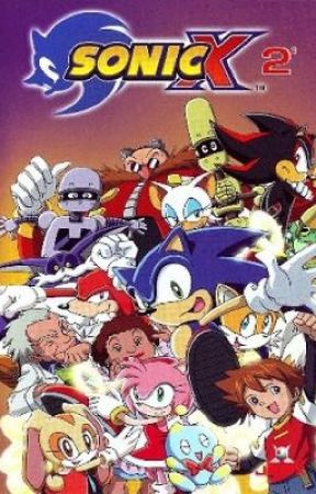 Sonic X by Cometsky