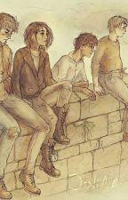 мародёры читают книги о Гарри Поттере by vikyla245