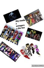 Sky media x avengers x the few by MoonPhaseWrites