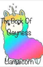 The Book Of Gayness by Llamaicorn
