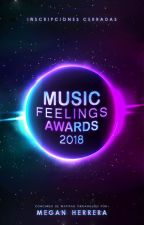 Music Feelings Awards 2018 by Megan_Rhs