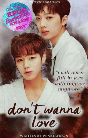 Don't Wanna love [LGL + PJH] by Winkerhoon